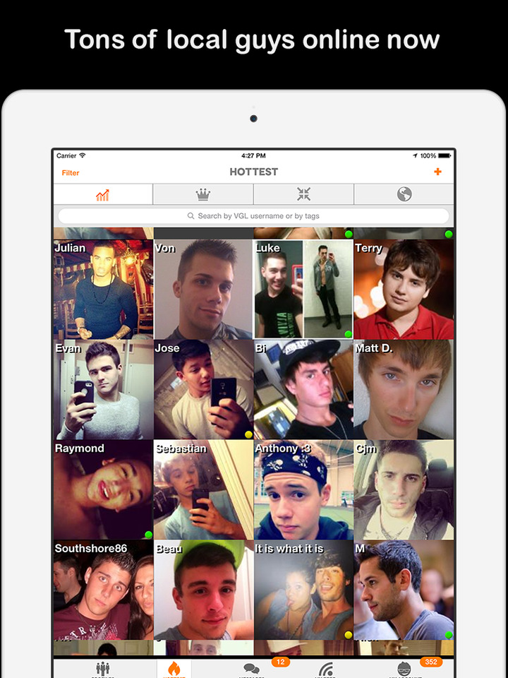 Gay social network for dating