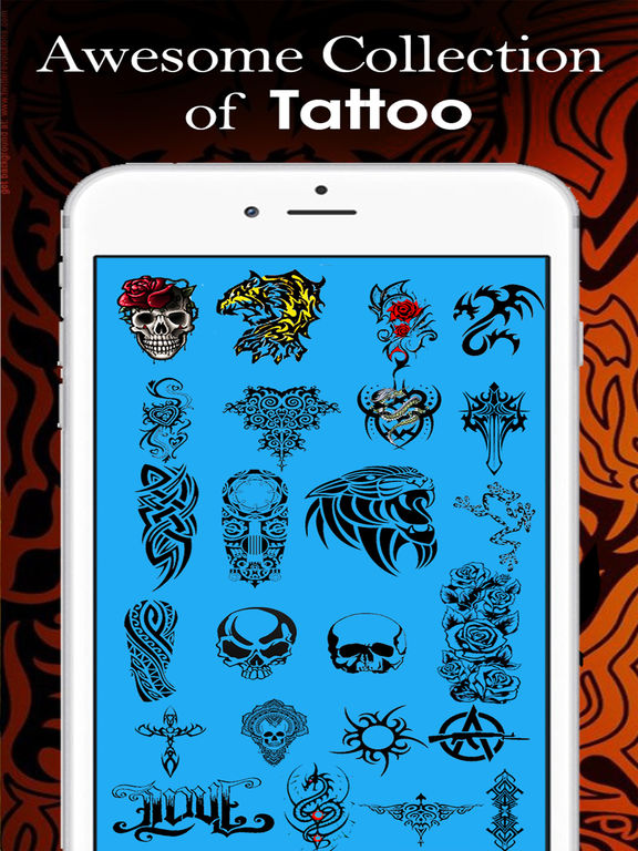 Tattoo Maker Pro - Art Yourself With Tattoos Free-ipad-0