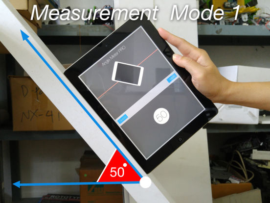 Angle Meter PRO HD for iPad Screenshot