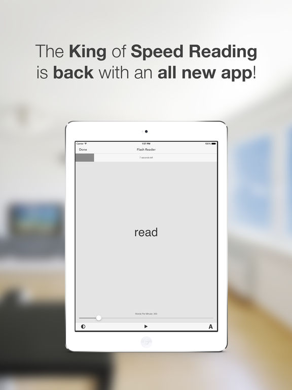 Flash Reader: Reading Reimagined Screenshot