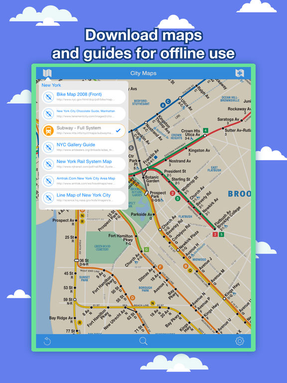 Download Nyc Subway Map Iphone.New York City Maps Nyc Subway And Travel Guides Ipa Cracked For