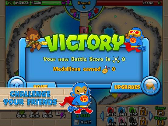 #3. Bloons TD Battles (iOS)