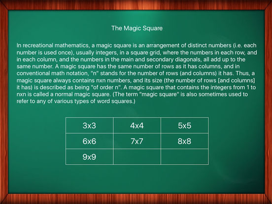 Math Game: The Magic Square IPA Cracked for iOS Free Download