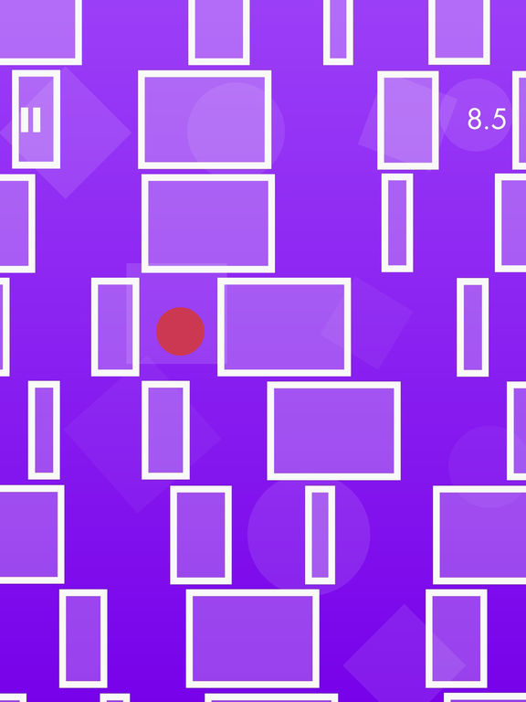 Rolling Icy Dot Racer - Blocky Knot Ropes-ipad-0
