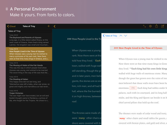 Ulysses - The Ultimate Writing App Screenshot