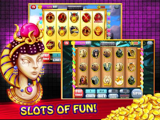 Free Las Vegas Casino Slot Machine Games - Spin for Win Big Bonus-ipad-4