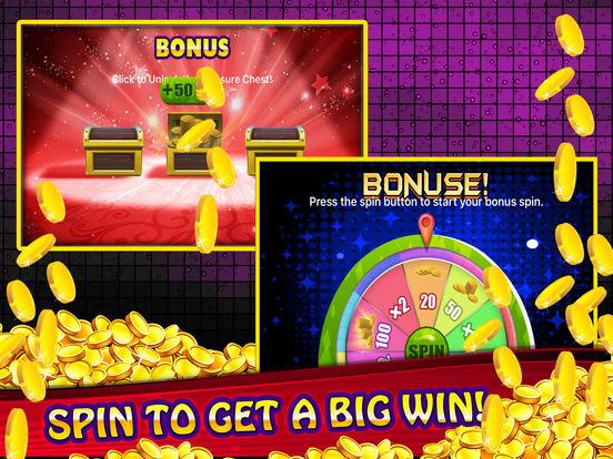 Free Las Vegas Casino Slot Machine Games - Spin for Win Big Bonus-ipad-3