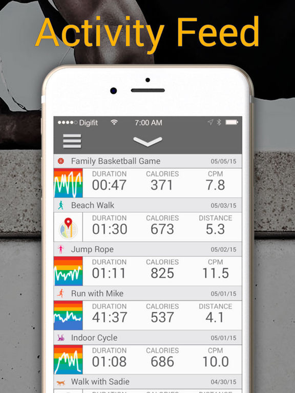 iBiker Cycling Tracker & Heart Rate Trainer Screenshot