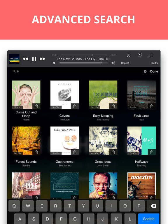 Eddy Cloud Music Player & Streamer Pro IPA Cracked for iOS