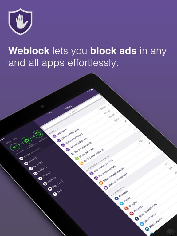 Weblock - AdBlock for apps and websites :: iPAHub
