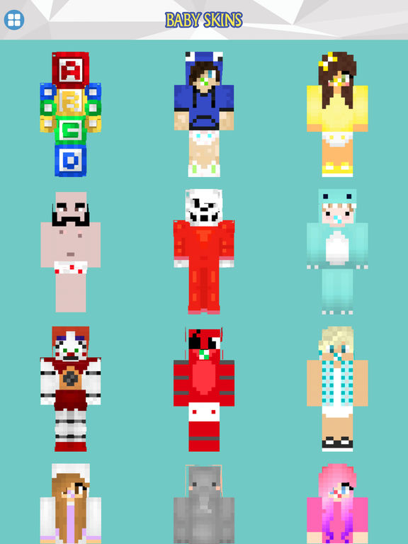App Shopper: FNAF, Roblox and Baby skins Free for ...