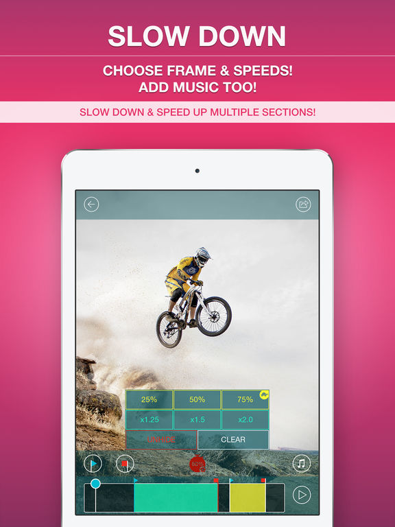 Slow Motion Video Editor Plus IPA Cracked for iOS Free Download