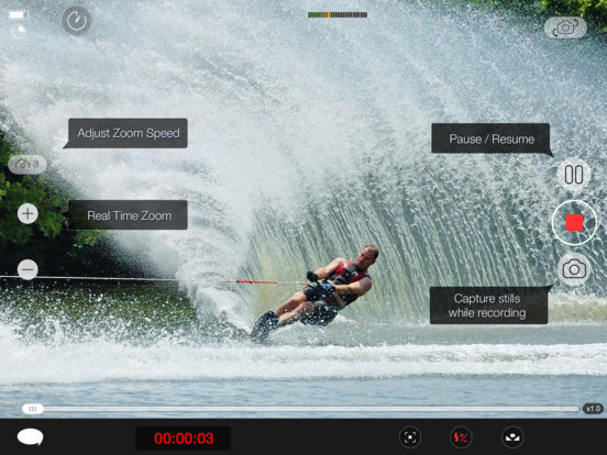 MoviePro : Video Recorder with Limitless options Screenshot