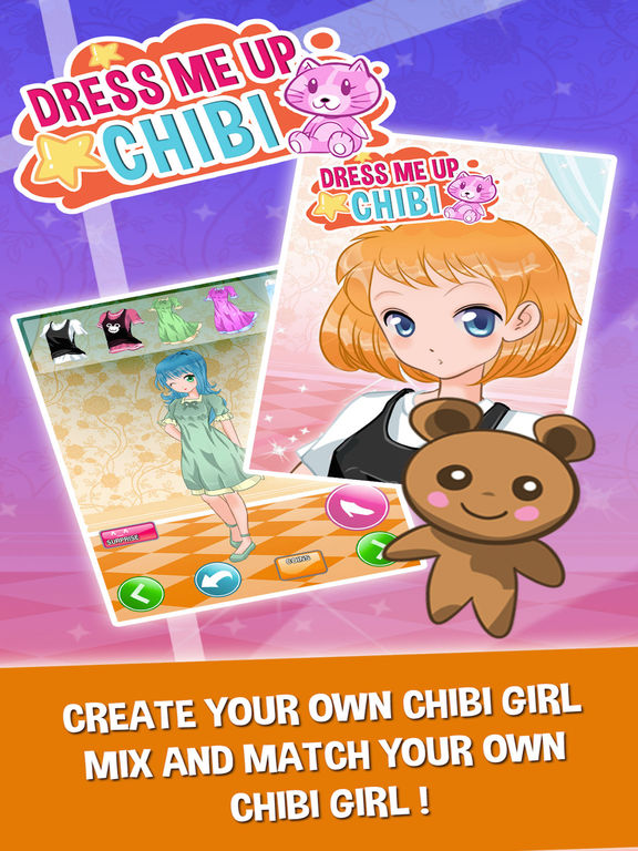 Anime Character Creator Chibi Girls Dress Up Games - appPicker