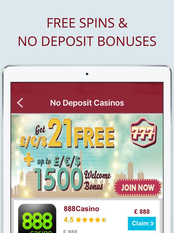Ipad casino free bonus no deposit