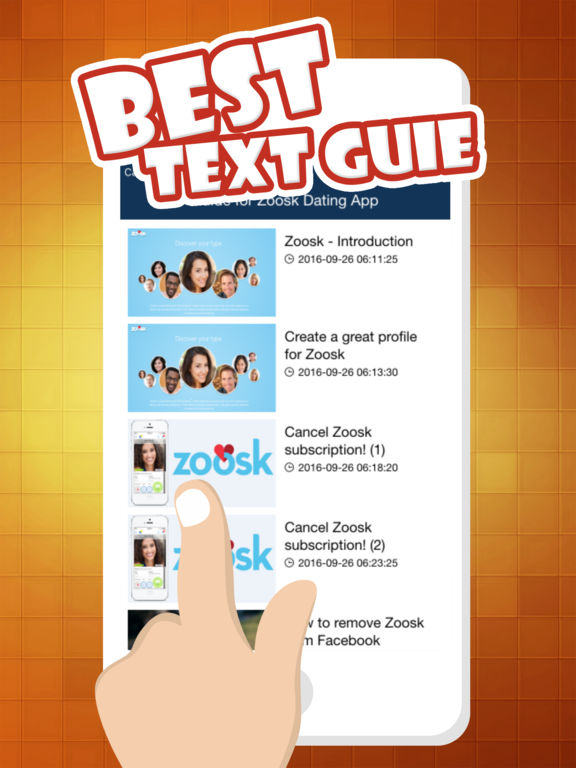 How to delete zoosk dating profile