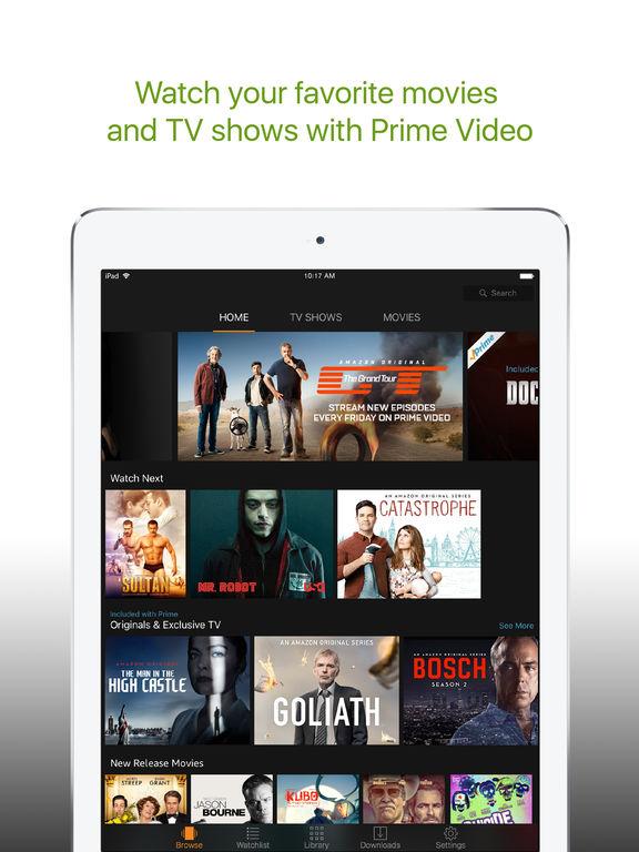 can u watch amazon prime on iphone