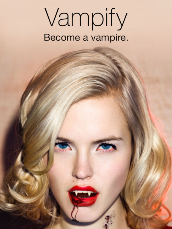 Vampify - Turn yourself into a Vampire Screenshot