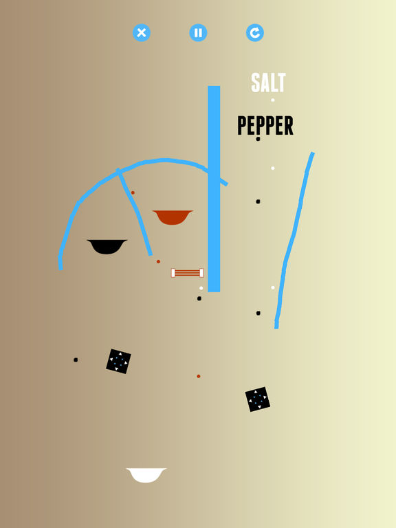 Salt & Pepper: A Physics Game Screenshots