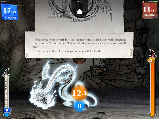 Sorcery! 3 Screenshot