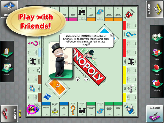 MONOPOLY for iPad Screenshot