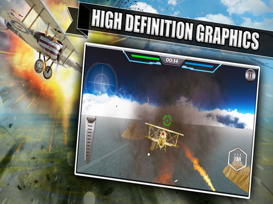 WW2 Dogfight Air Battle-ipad-1