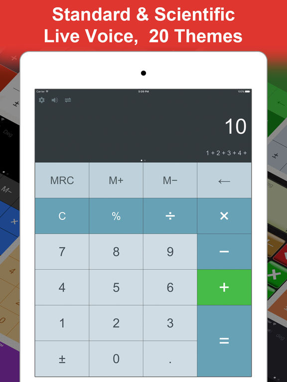DayCalc Pro - Note Calculator & Unit Converter Screenshot