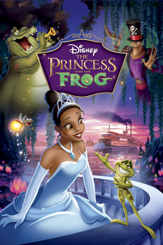 frog princess movies disney tiana dvd prince film amazon itunes princesa cover princesses 2009 animated sapo el pelicula rana orleans